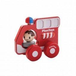 Camión de bomberos de Plan Toys.