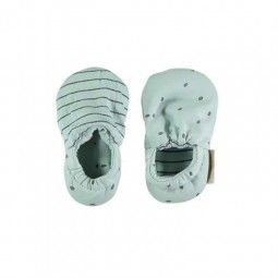 Shoes Kai de Petit Oh! color Aqua.